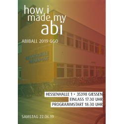 Abiball 2019 - how i made...